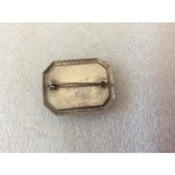 Vintage Linde Star Cabochon Pin