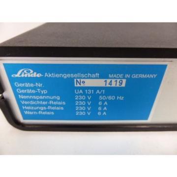 Linde UA 131 A/1 Kühlstellenregler Temperaturregler Klimaregler