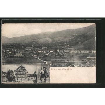 alte AK Oberkirch, Renchthaltrachten, Geldreich´s Gasthof zur Linde