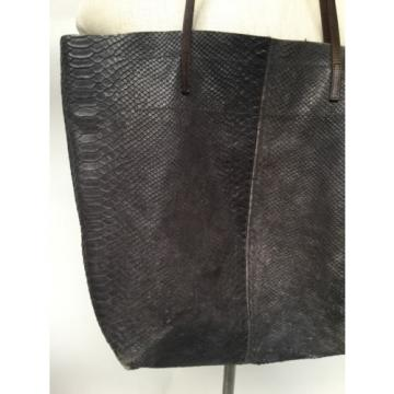 Leather Tote Bag by Linde Gallery St Barth Made In France Shoulder