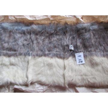 NEW UGG Scarf Linde Snood Sheepskin Shearling $600 retail