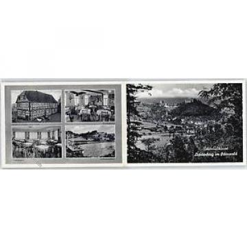 51443690 - Lichtenberg , Odenw Gasthaus zur gruenen Linde Schwimmbad Werbe-Karte
