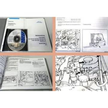Linde E14 E16 E18 E20 - 02 Betriebsanleitung + Ersatzteilliste CD 2004