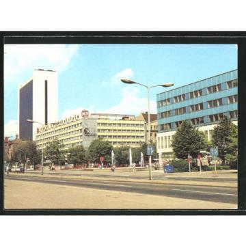 schöne AK Berlin, Internationales Handelszentrum und Interhotel Unter den Linde