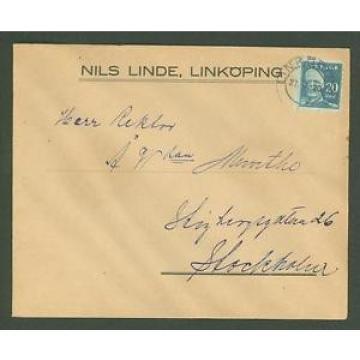 J Cover G89 Sweden 1920 Nils Linde Linkoping