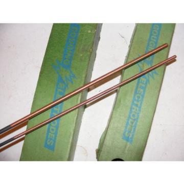 """Lot 1/4""""& 3/16"""" LINDE Union Carbide 12"""" GOUGING ELECTRODES  Rods Carbon Arc Air"""