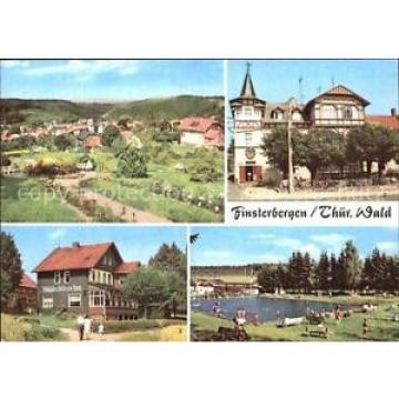 72557292 Finsterbergen Volkshaus Zur Linde Cafe Waldschloesschen Schwimmbad Fins