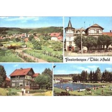 72557285 Finsterbergen Volkshaus zur Linde Cafe Waldschloesschen Schwimmbad Fins