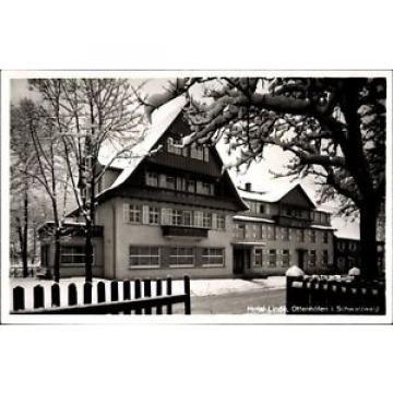 Ak Ottenhöfen im Schwarzwald Ortenaukreis, Hotel Linde im Winter,... - 1160255
