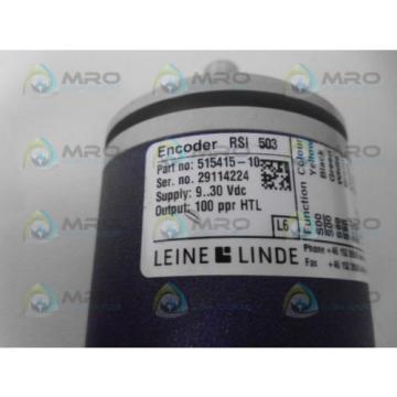 LEINE & LINDE 515415-10 ENCODER *NEW NO BOX*