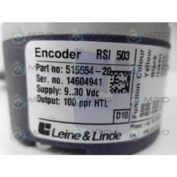 LEINE & LINDE 515554-20 INCREMENTAL ENCODER *NEW NO BOX*