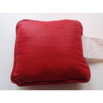 Linde Products Small Decorative Christmas Pillow Holiday Toys Drums Red Festive