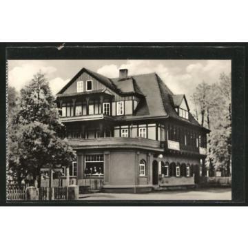 tolle AK Sitzendorf, Ho-Hotel zur Linde