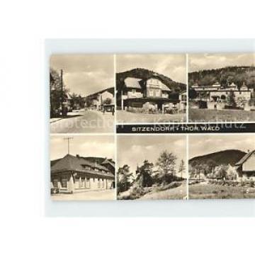 71964256 Sitzendorf Thueringen HO Hotel Zur Linde Kirche Sitzendorf Schwarzatal