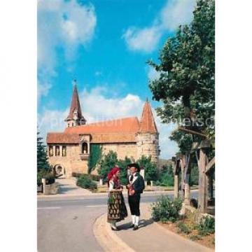 72740723 Effeltrich Kirchenburg St Georg 1000jaehrige Linde Trachten Effeltrich