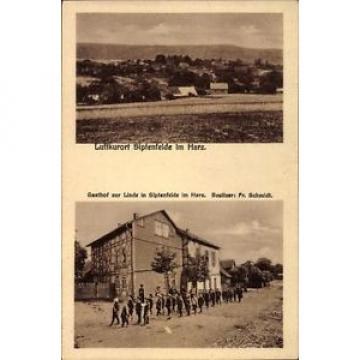 Ak Siptenfelde Harzgerode am Harz, Gasthof zur Linde, Bes. Fr. Schmidt - 1640486
