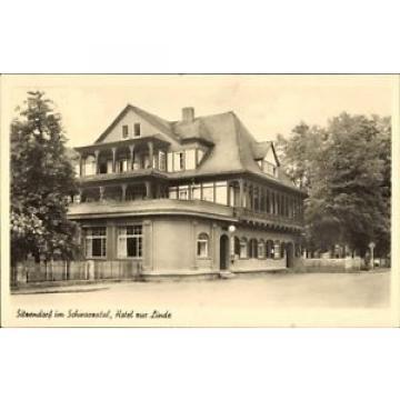 Ak Sitzendorf an der Schwarza in Thüringen, Hotel zur Linde - 1584427