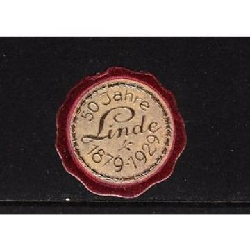 48134/ Siegelmarke - 50 Jahre LINDE - 1879-1929 - **