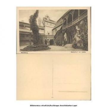 ak6836 Nürnberg - Schloßhof mit Linde