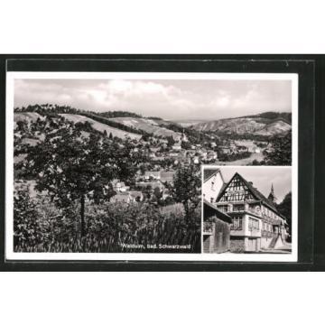 alte AK Waldulm, Gasthaus & Metzgerei Zur Linde