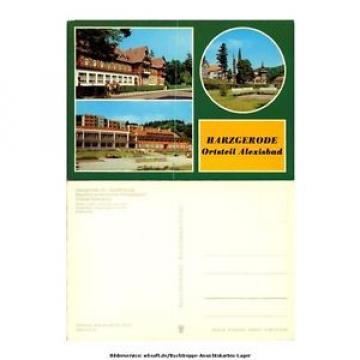 "ak9467 Harzgerode - Ortsteil Alexisbad - Hotel ""Linde"" und Cafe ""Exquisit"" - Fe"