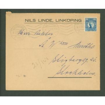 J Cover G01 Sweden 1920 Nils Linde Linkoping