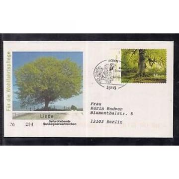B 5203 ) Bund  2013 FDC  Blühende Bäume, Linde skl