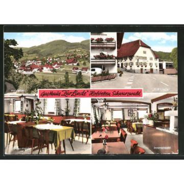 tolle AK Hofstetten, Gasthaus Zur Linde, Ortsansicht