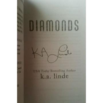 SIGNED***Diamonds by K.A. Linde
