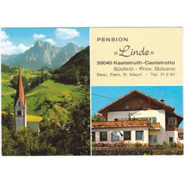 "CASTELROTTO - KASTELRUTH - BOLZANO - PENSIONE ""LINDE"" -78936-"