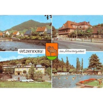 Germany Sitzendorf im Schwarzatal Hotel Zur Linde Schwimmbad Auto Cars