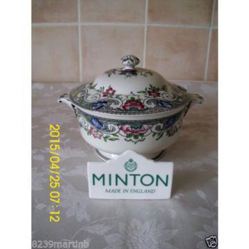 Minton M & Co Linde Pattern Floral Lidded Sauce Tureen #2