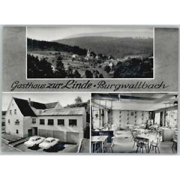 40640650 Burgwallbach Burgwallbach Gasthaus zur Linde * Schoenau a.d.Brend