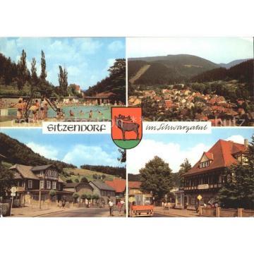 72263585 Sitzendorf Thueringen Schwimmbad Hotel Zur Linde Sitzendorf Schwarzatal