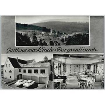 40242415 Burgwallbach Burgwallbach Gasthaus zur Linde * Schoenau a.d.Brend