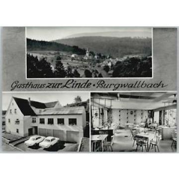 40242413 Burgwallbach Burgwallbach Gasthaus zur Linde * Schoenau a.d.Brend