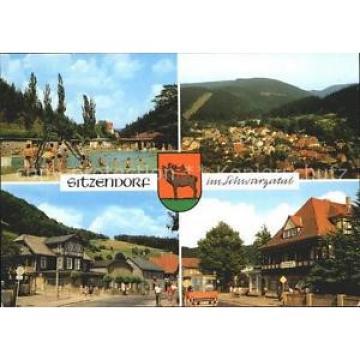72022623 Sitzendorf Thueringen Schwimmbad Hotel Zur Linde Sitzendorf Schwarzatal