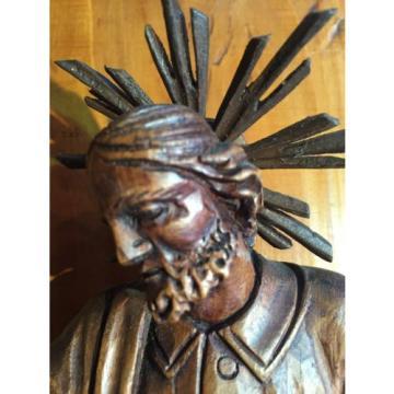 Heiligenfigur,um 1800, Original, Linde, süddeutsch,Heiliger, Holz