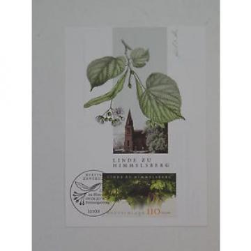 (j902) Bund Maximumkarte MK Michel Nr. 2208 Linde von Himmelsberg 2001