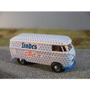 1/87 Brekina # 0695 VW T1 b Linde ' s Scatola