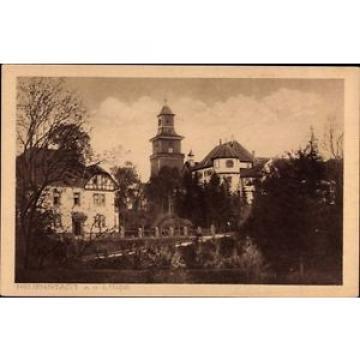 Ak Neuenstadt an der Linde, Teilansicht mit Turm und Brücke - 962296