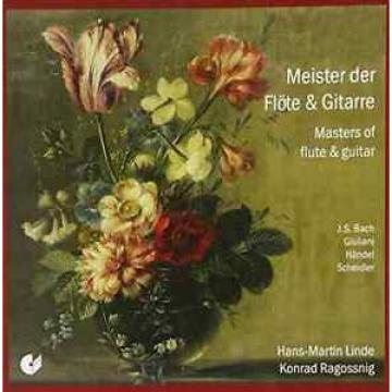 Linde; Ragossnig-Masters Of Flute, Guitar CD NEW