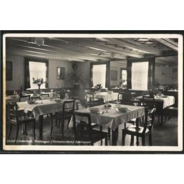 alte AK Hechingen, Ansicht vom Speisesaal des Hotels Linde-Post