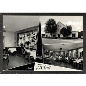 Ak Axstedt in Niedersachsen, Gasthaus Zur Linde, Gaststätte, Gaststube - 1324027