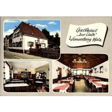 Ak Wernersberg in der Pfalz, Gasthaus zur Linde, Innenansichten,... - 1168375