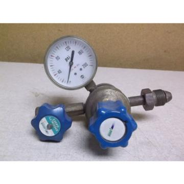 Linde UPE-3-150-350 Regulator Assembly with Pressure Gauge *FREE SHIPPING*