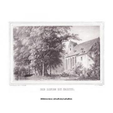 """DRESDEN-KADITZ - """"Die Linde zu Kaditz"""". Blick vom Eingang des Kirchhofs auf Lind"""