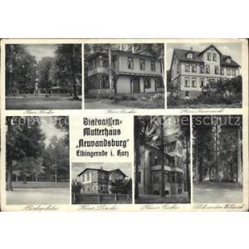 42601970 Elbingerode Harz Birkenplatz Haus Linde Haus Eiche Waldpark Elbingerode