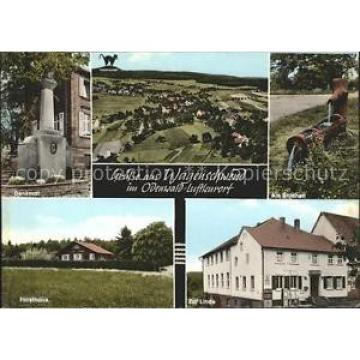 41806524 Wagenschwend Gasthaus Pension Zur Linde Denkmal Forsthaus Limbach