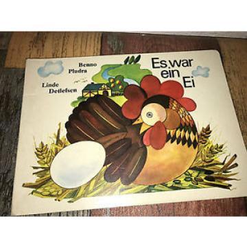 DDR Ausgabe - Es war ein Ei. Pludra, Benno und Linde Detlefsen